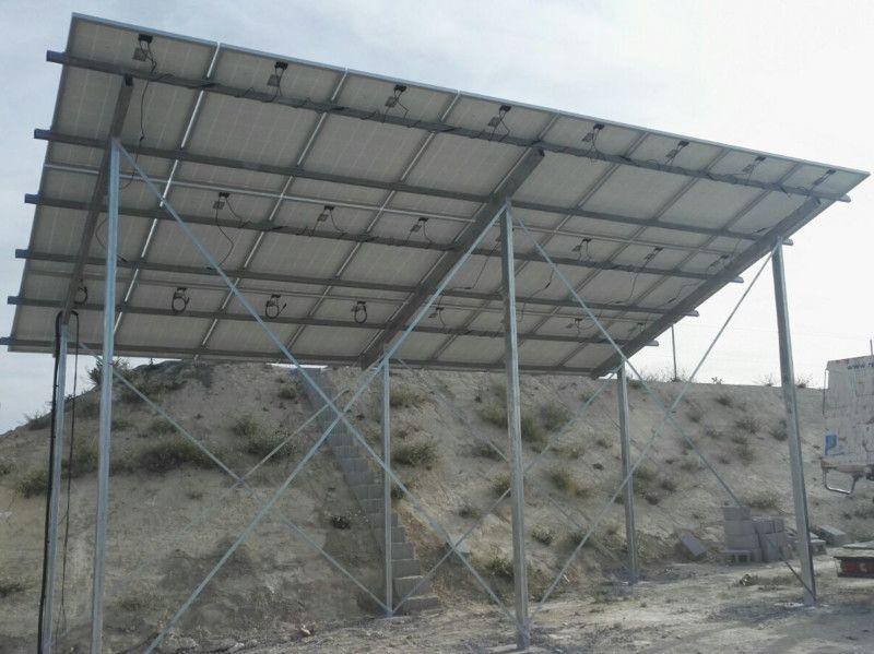 Instalación bombeo solar finca agricola, San Miguel
