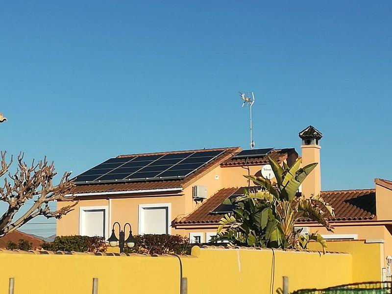 instalación solar fotovoltaica Gineta