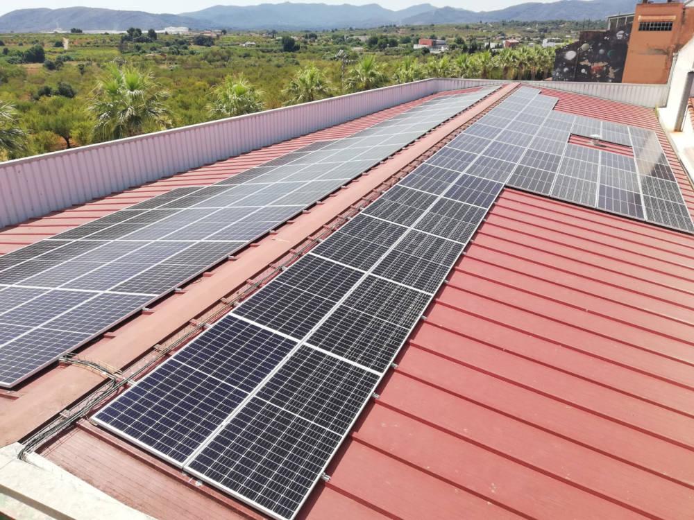 Autoconsumo Fotovoltaico Cooperativa Vall d'Alba