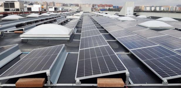 Instalación solar fotovoltaica de Autoconsumo Industrial para Centro Comercial en Madrid
